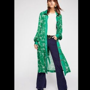 Free People Maxi Dress/Duster
